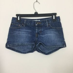 Abercrombie & Fitch Size 00 Button Fly Jean Shorts